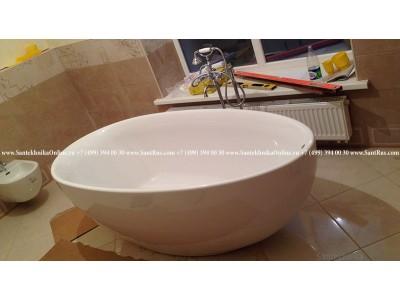 Ремонт в ванной: сантехнические работы