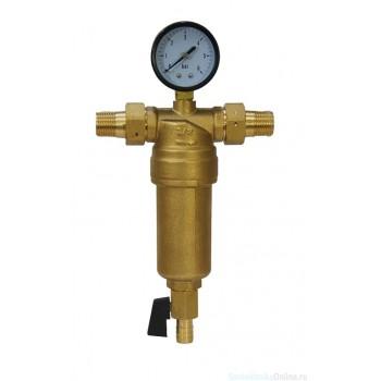 Фильтр Millennium с манометром 1/2, для горячей воды