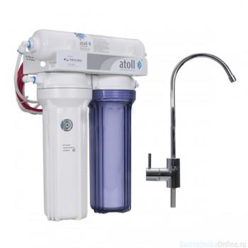 Бытовой фильтр ATOLL проточный А-310 Е