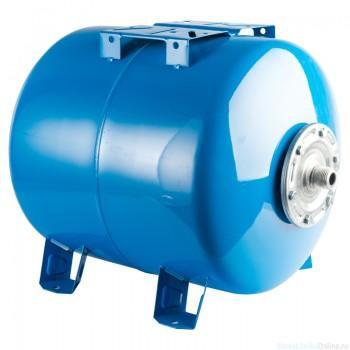 Гидроаккумулятор 80 л. вертикальный (цвет синий) для водоснабжения STOUT