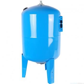 Гидроаккумулятор 100 л. вертикальный (цвет синий) для водоснабжения STOUT