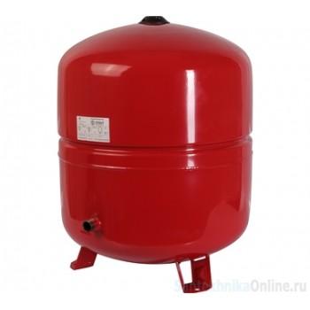 Расширительный бак на отопление 80 л. STOUT (цвет красный)
