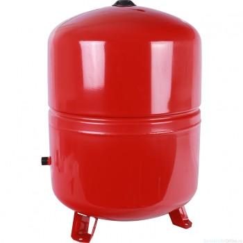 Расширительный бак на отопление 10 л. STOUT (цвет красный)