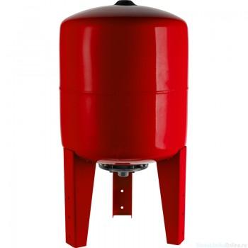 Расширительный бак на отопление 200 л. STOUT (цвет красный)
