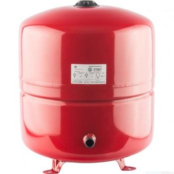 Расширительный бак на отопление 50 л. STOUT (цвет красный)