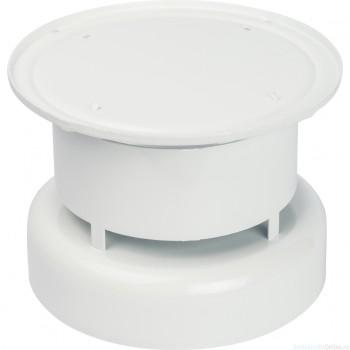 STOUT Элемент дымохода DN60/100, оголовок дымохода вертикальный, защита от ветра и осадков