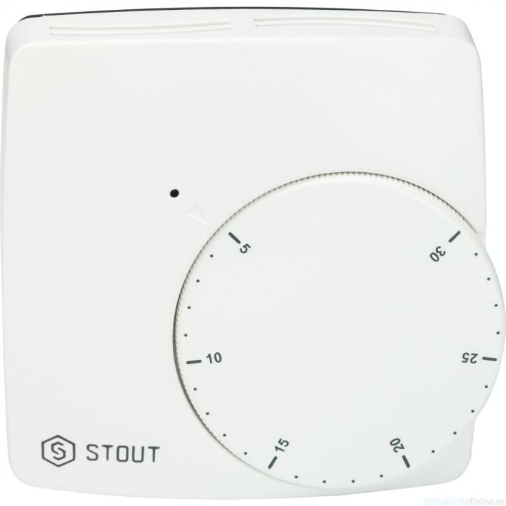 Термостат проводной электронный WFHT-BASIC со светодиодом