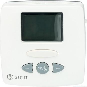 Термостат комнатный электронный WFHT-LCD. С выносным датчиком
