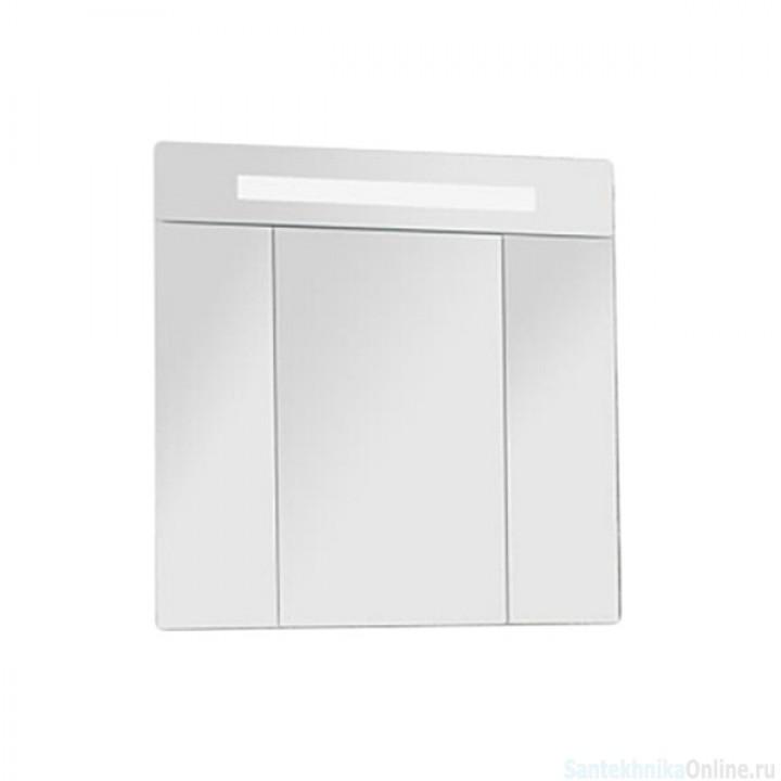 Зеркальный шкаф Акватон - ЮТА 80 белый/ясень фабрик 1A203002UT010