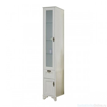 Шкаф колонна Акватон - ИДЕЛЬ левый дуб верди 1A198003IDM9L