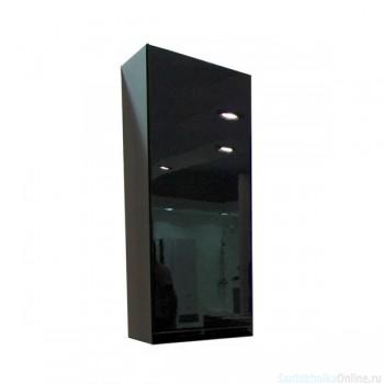 Шкаф одностворчатый Акватон - РИЧМОНД чёрный 1A145503RD95L левый