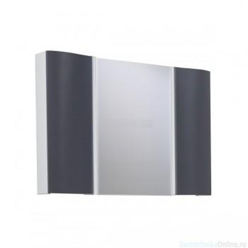 Зеркальный шкаф Акватон - ОНДИНА 100 графит 1A176102ODG20