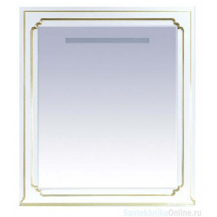 Зеркала Misty Praga 90 белое Л-Пра02090-013