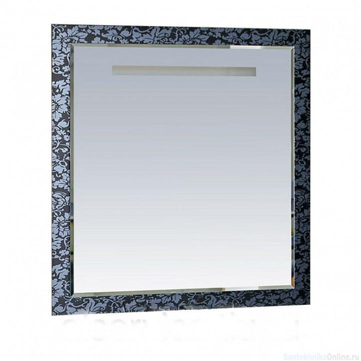 Зеркала Misty Домино 90 черное/белое П-Дом02090-242
