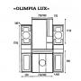 Зеркало-шкаф Misty Olimpia Lux 90 L Л-Олл04090-033СвЛ