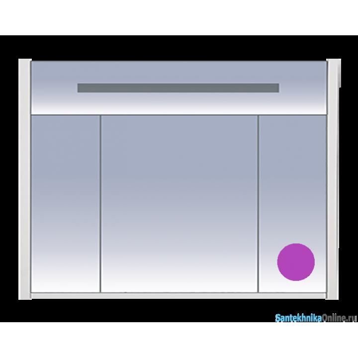 Зеркало-шкаф Misty Джулия 105 сиреневый Л-Джу04105-1510