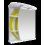 Зеркало-шкаф Misty Каролина 60 R желтый П-Крл02060-315СвП