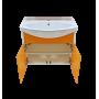 Тумба под раковину Misty Джулия 75 оранжевая Л-Джу01075-1310По