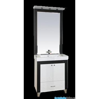 Зеркала Misty Марсель - 75 зеркало комб. венге/бел П-Мрс02075-252