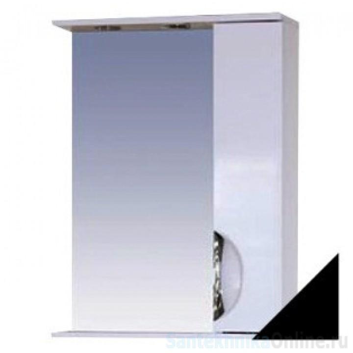 Зеркало-шкаф Misty Жасмин 55 R черный П-Жас02055-022СвП