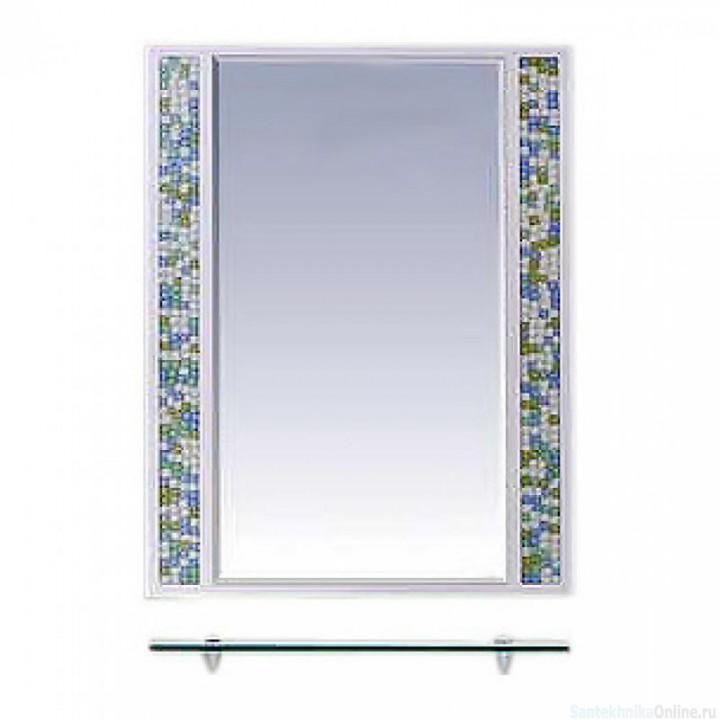 Зеркала Misty Жемчужина 60 белое/голубое П-Жем03060-328