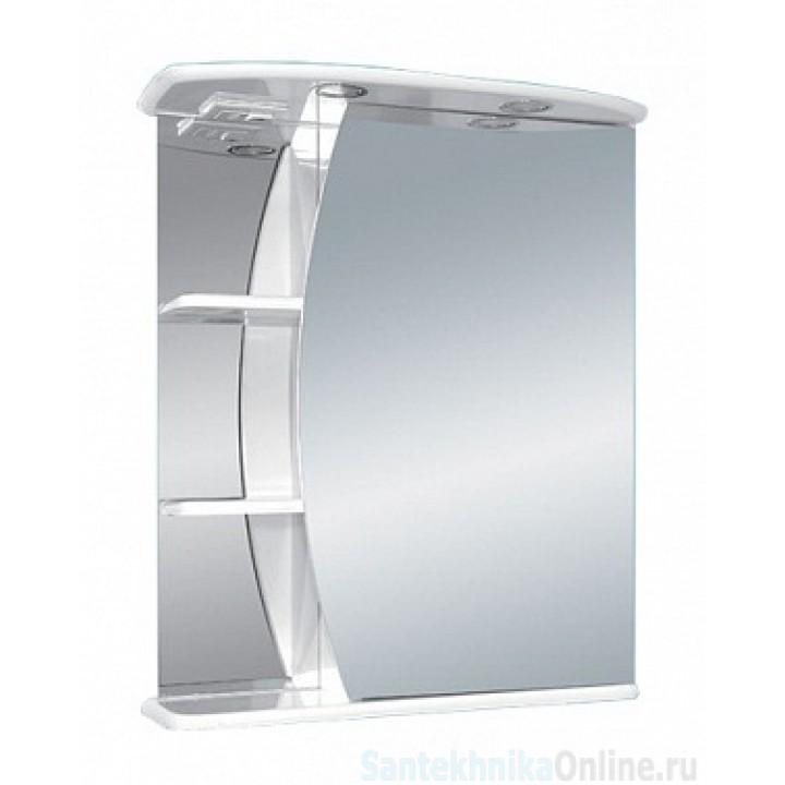 Зеркало-шкаф Misty Луна - 55 Зеркало - шкаф прав. (свет) Э-Лун02055-01СвП