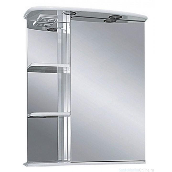 Зеркало-шкаф Misty Магнолия 60 R со светом Э-Маг04060-01СвП