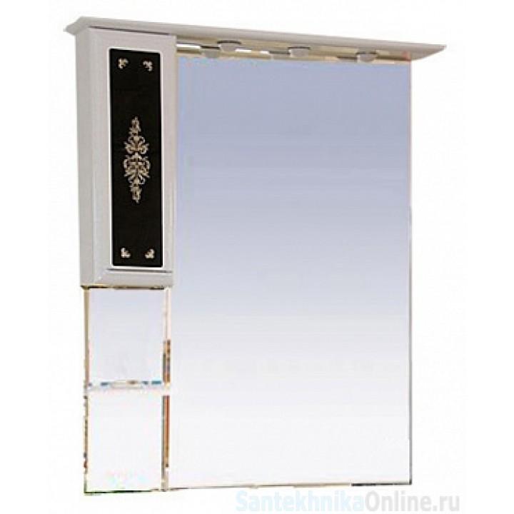 Зеркало-шкаф Misty Мальта 75 L Л-Млт04075-235Л