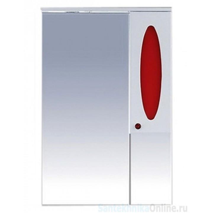 Зеркало-шкаф Misty Сидней 65 R красный П-Сид02065-265СвП