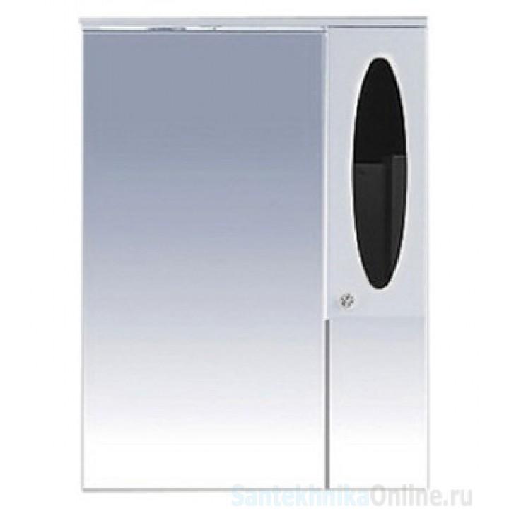 Зеркало-шкаф Misty Сидней 75 R черный П-Сид02075-235СвП