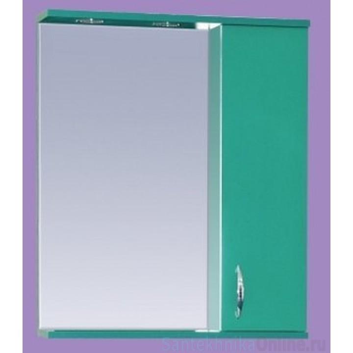 Зеркало-шкаф Misty Стиль 55 R зеленый Э-Сти02055-08СвП