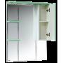 Зеркало-шкаф Misty Жасмин 85 R салатовый П-Жас02085-071СвП