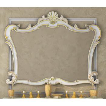 Зеркала Misty Bianco 80 белое сусальное золото Л-Бья02080-391