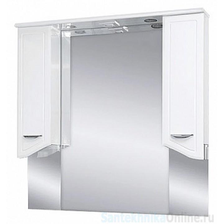 Зеркало-шкаф Misty Дрея -105 Зеркало - шкаф (свет) Э-Дре02105-01Св