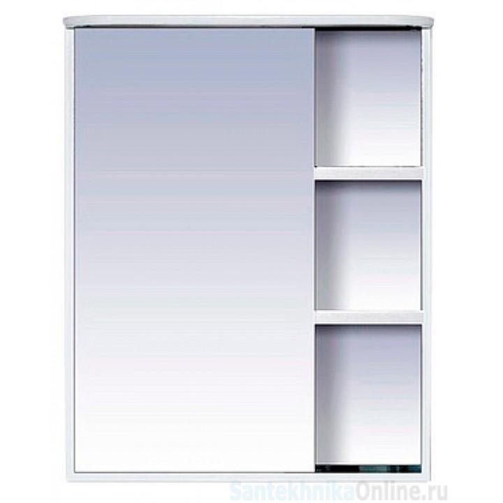 Зеркало-шкаф Misty Венера - 60 Зеркало-шкаф лев. со светом белое П-Внр04060-01СвЛ