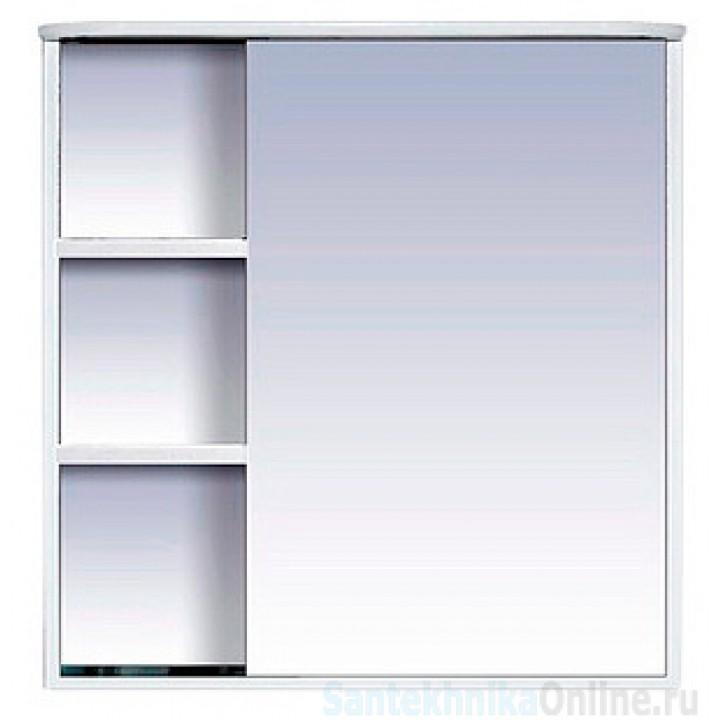 Зеркало-шкаф Misty Венера - 80 Зеркало-шкаф прав. со светом белое П-Внр04080-01СвП