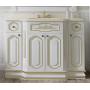 Зеркала Misty Астория Gold 105 белое глянец Л-Асг02105-3918Св