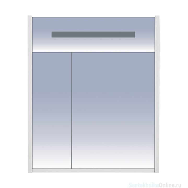 Зеркало-шкаф Misty Джулия 65 бордовый Л-Джу04065-1010
