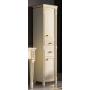 Шкаф-пенал Misty Tiffany 50 R белый сусальное золото Л-Тиф05050-391П