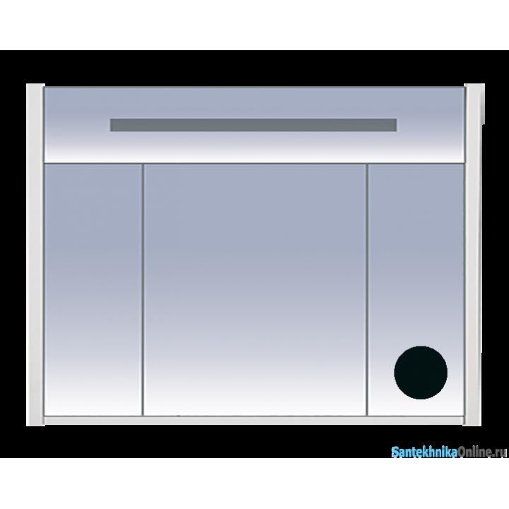 Зеркало-шкаф Misty Джулия 105 черный Л-Джу04105-0210