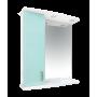 Зеркало-шкаф Misty Астра 60 L голубой Э-Аст04060-06СвЛ