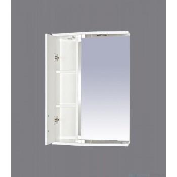 Зеркало-шкаф Misty АСТРА-50 зеркало-шкаф лев.(свет) бежевая Э-Аст04050-03СвЛ