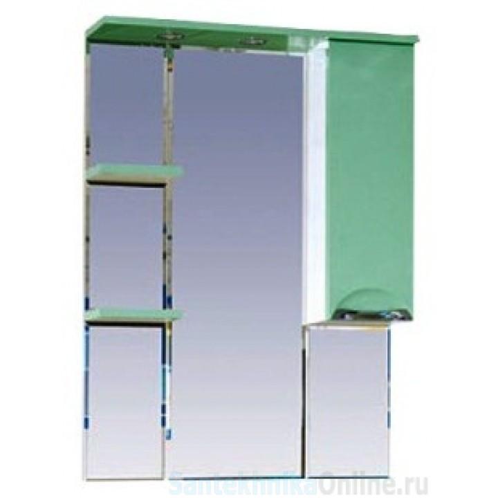 Зеркало-шкаф Misty Жасмин 75 R салатовый П-Жас02075-071СвП