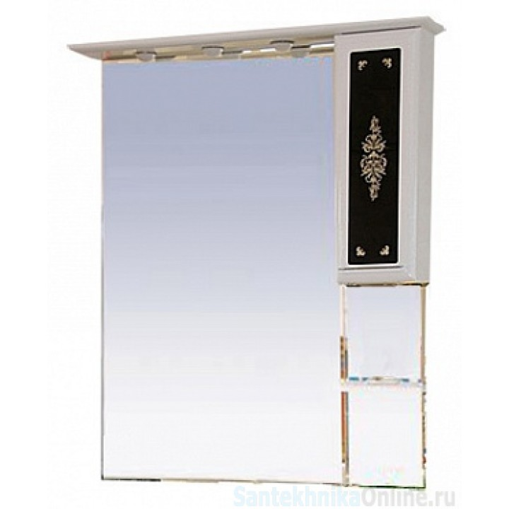 Зеркало-шкаф Misty Мальта 75 R Л-Млт04075-235П