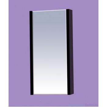 Зеркало-шкаф Misty Мини -40 Зеркало-шкаф черное П-Мин04040-021