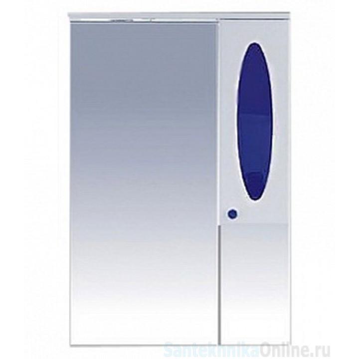Зеркало-шкаф Misty Сидней 65 R синий П-Сид02065-305СвП