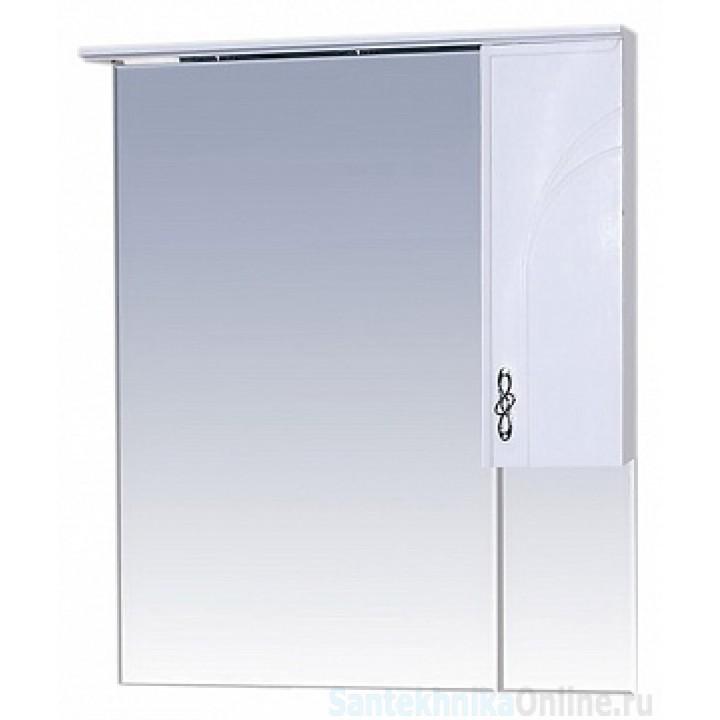 Зеркало-шкаф Misty Сицилия 85 R П-Сиц04085-011СвП