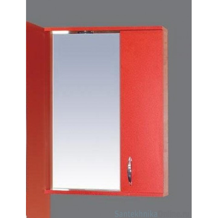 Зеркало-шкаф Misty Стиль 55 R красный Э-Сти02055-04СвП