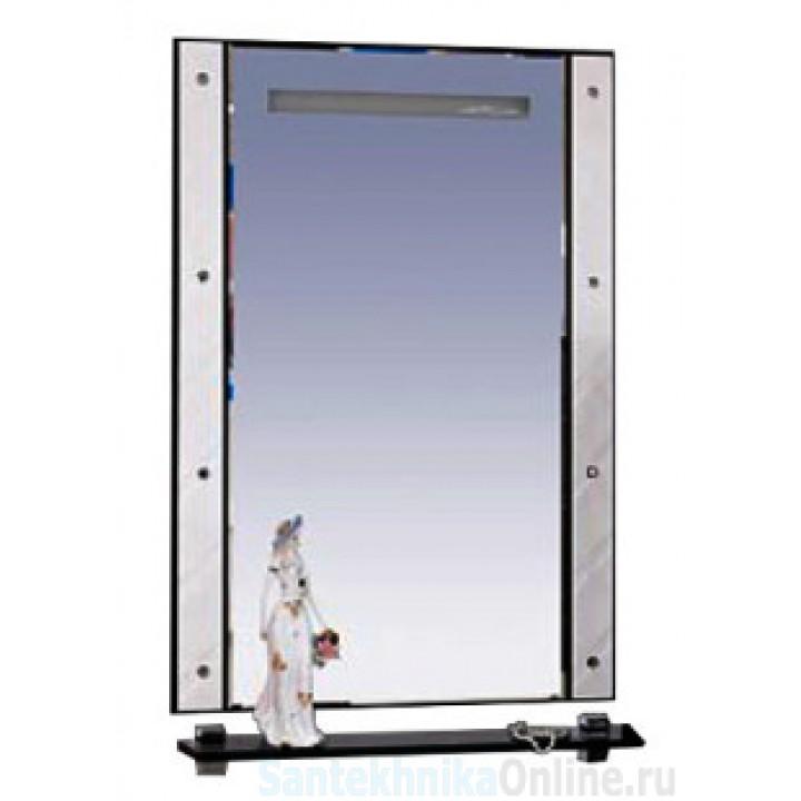 Зеркала Misty Гранд Lux 80 бело-черное Cristallo Л-Грл02080-239Кс