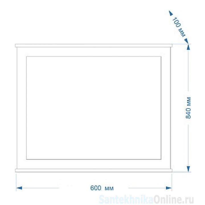 Зеркала Misty Марта - 60 Зеркало голубое матовое П-Мрт02060-061